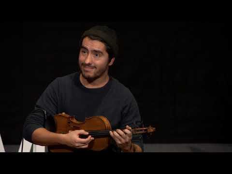 A violin meets a loop station | Gustavo Strauß | TEDxTUM