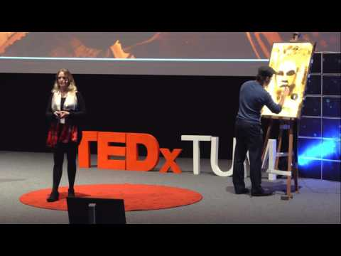 Stick Up: The layers of tape art | Max Zorn and Audrey Sykes | TEDxTUM