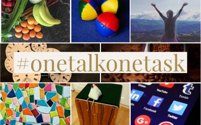 #onetalkonetask
