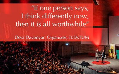 TEDxTUM featured in two podcasts